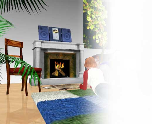 Decorate Your Virtual 3D Chat Rooms